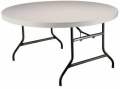 Rental store for 5  ROUND WHITE TABLE in St. Joseph MI MI